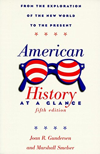 9780062732927: American History at a Glance: Fifth Edition