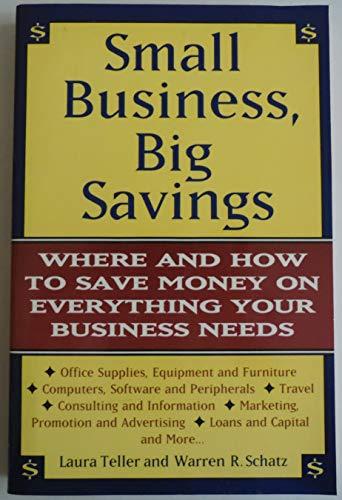 9780062732989: Small Business, Big Savings