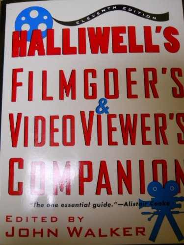 9780062733382: Halliwell's Filmgoer's and Video Viewer's Companion (Halliwell's Who's Who in the Movies)