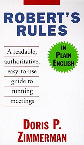 9780062734761: Robert's Rules in Plain English