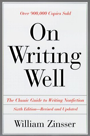 9780062735232: On Writing Well: The Classic Guide to Writing Nonfiction