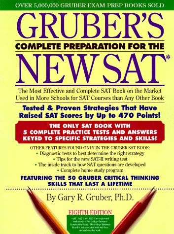 9780062736260: Gruber's Complete Preparation for the New SAT 8E (Gruber's Complete Preparation for the Sat)