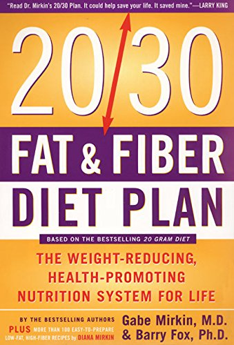 9780062736505: 20/30 Fat and Fiber Diet Plan (Harper Resource Book)
