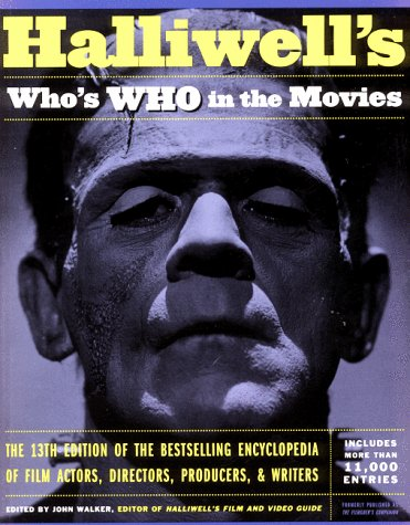 9780062736550: Halliwell's Who's Who in the Movies