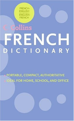 HarperCollins French Dictionary: French-English/English-French 9780062737410 The HarperCollins Rack Dictionary offers up-to-date coverage of today's language with over 40,000 entries and 70,000 translations. The easy-to-use format contains commonly used phrases and idioms, plus irregular verb forms, and the most common abbreviations, acronyms, and geographic names. The HarperCollins Rack Dictionary is targeted to students, travelers, and professionals looking for a quick refresher. Economically priced and packaged in an easy-to-carry paperback format, this dictionary is the best buy on a crowded shelf. The Rack editions will continue the new look and cover design of Concise and College editions to present a unified, competitive branded look.