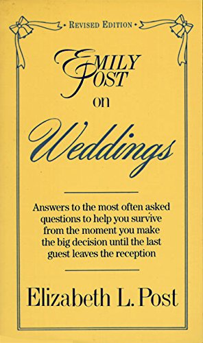 9780062740083: Emily Post on Weddings: Revised Edition