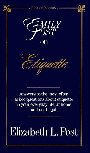 9780062740113: Emily Post on Etiquette