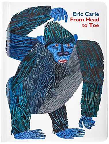 9780062747662: From Head to Toe Padded Board Book