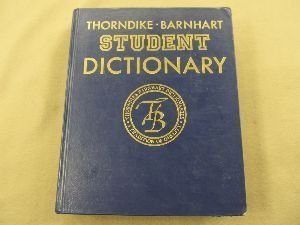 9780062750112: Thorndike-Barnhart Student Dictionary