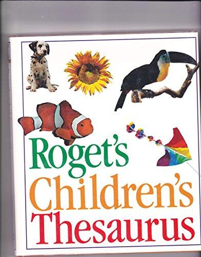 9780062750136: Roget's Children's Thesaurus