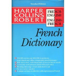 9780062755032: harper collins robert french dictionary