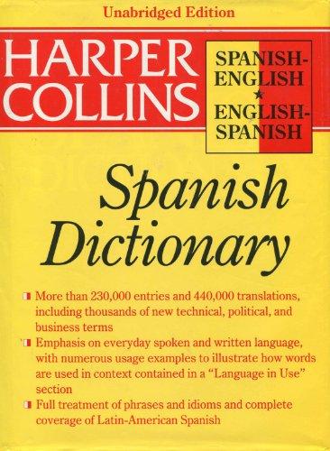 9780062755100: HarperCollins Robert Spanish Dictionary
