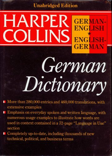 9780062755117: Harpercollins German English English German Dictionary (HarperCollins Bilingual Dictionaries)