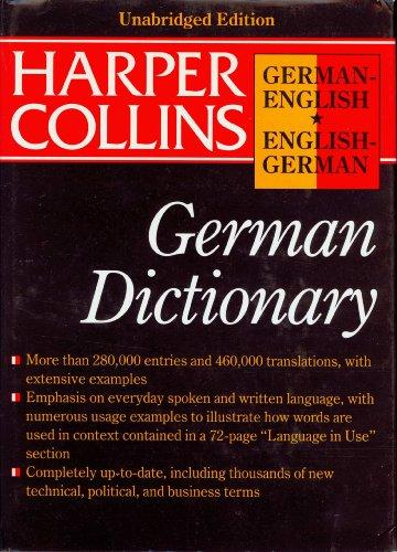 9780062755117: Harpercollins German English English German Dictionary (HarperCollins Bilingual Dictionaries)