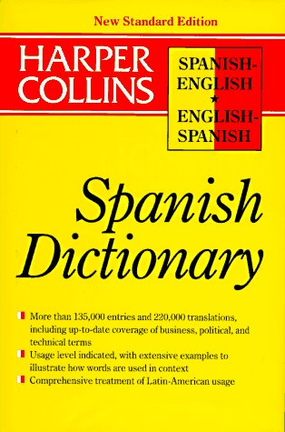 9780062755148: HarCol Spanish New S (HarperCollins Bilingual Dictionaries)