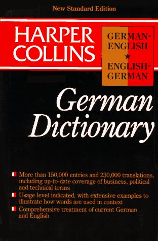 9780062755155: Collins German English/English German Dictionary/Indexed (English and German Edition)