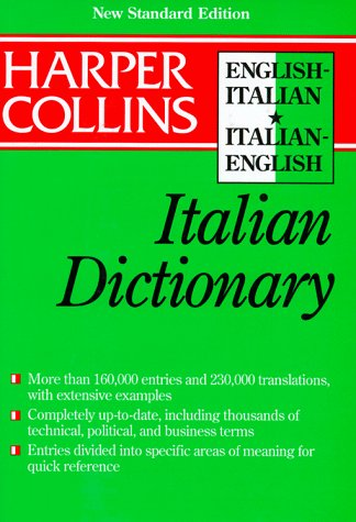 9780062755179: Collins English-Italian Italian-English Dictionary