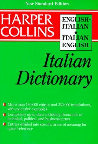 9780062755179: Harper Collins Italian College Dictionary