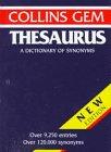 9780062765031: Collins Gem Thesaurus (Collins Gems)