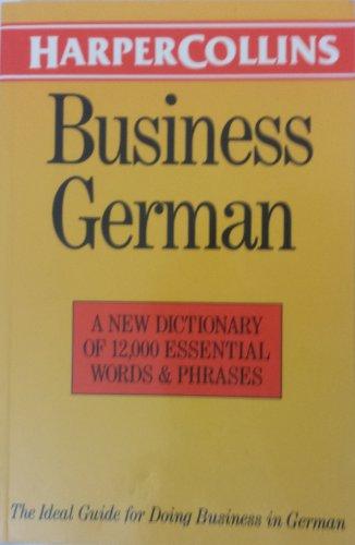 9780062765178: Harpercollins Business German