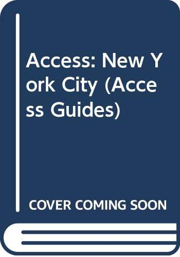 9780062770523: Access: New York City (Access Guides)