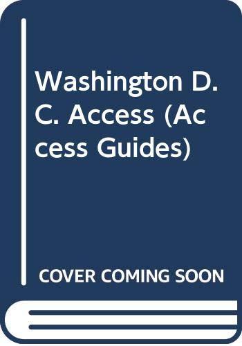 9780062770776: Washington D.C. Access (Access Guides)