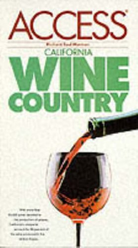 9780062771643: Northern California Wine Country (3rd ed)