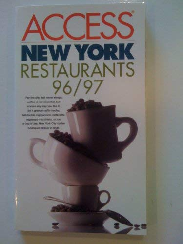 9780062771919: New York Restaurants 96/97 Access