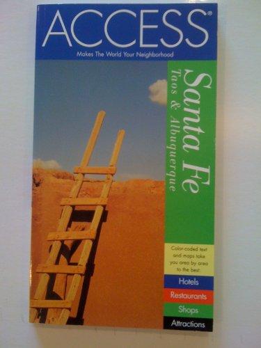 9780062771940: Santa Fe, Taos, Albuquerque (Access Guides)