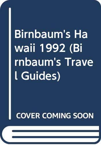 9780062780089: Birnbaum's Hawaii 1992