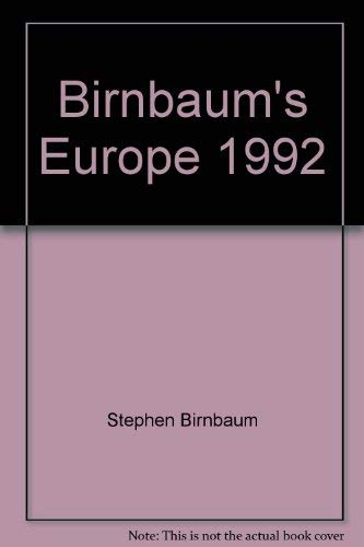 9780062780164: Birnbaum's Europe 1992