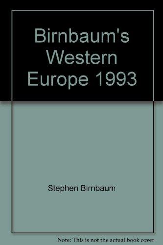 9780062780201: Birnbaum's Western Europe 1992