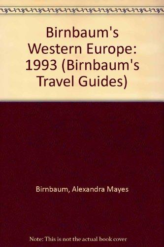 9780062780829: Birnbaum's Western Europe 1993 (Birnbaum's West Europe)