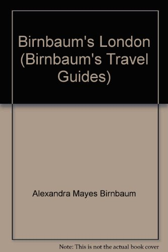9780062781345: Birnbaum's London (Birnbaum's Travel Guides)