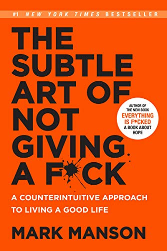 9780062837509: The Subtle Art of Not Giving a F*ck (Smiths UK)