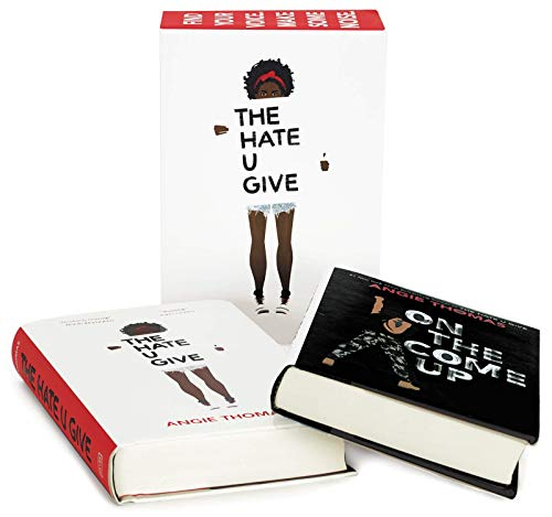 Cover of the book, Angie Thomas 2-Book Box Set: The Hate U Give and On the Come Up.