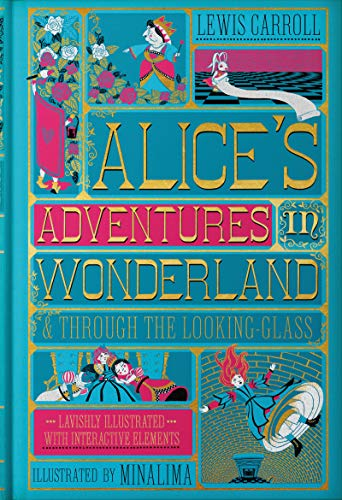 9780062936615: Alice's Adventures in Wonderland (Illustrated with Interactive Elements): & Through the Looking-Glass
