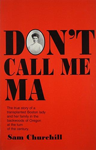 9780063053670: Dont Call Me Ma