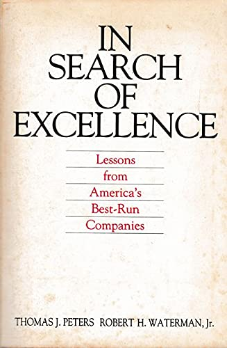 9780063120532: Moriman/in Search of Excellence:Pb(Peters/Mortim