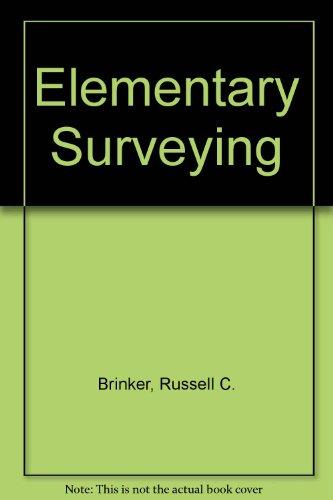 9780063120846: Elementary Surveying