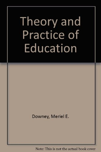 9780063180376: Theory and Practice of Education