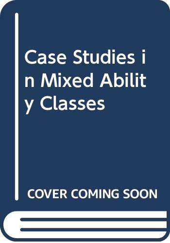 9780063180444: Case Studies in Mixed Ability Classes