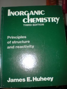 9780063180451: Inorganic chemistry: Principles of structure and reactivity