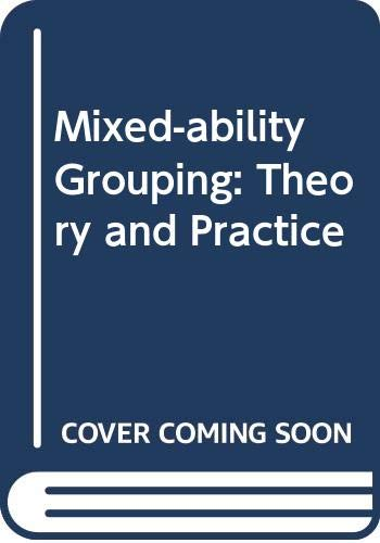 9780063180697: Mixed-ability Grouping: Theory and Practice