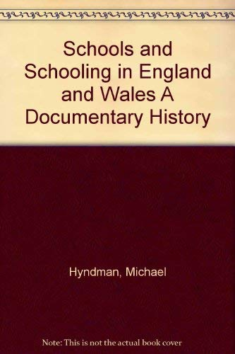 9780063180789: Schools and Schooling in England and Wales