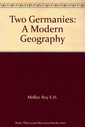 9780063180819: Two Germanies: A Modern Geography