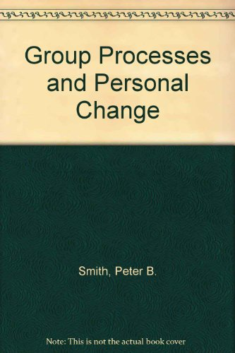 9780063181519: Group Processes and Personal Change