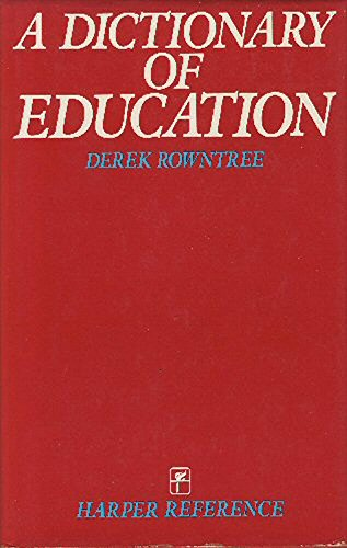 9780063181571: Dictionary of Education
