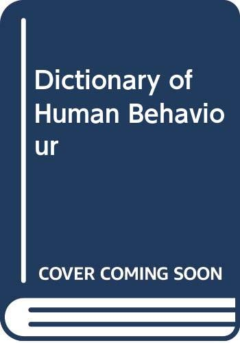 9780063181915: Dictionary of Human Behaviour