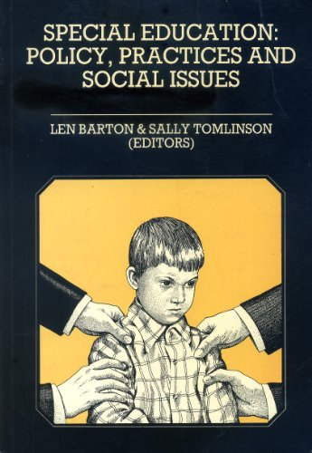 9780063181991: Special Education: Policy, Practices and Social Issues (Harper education series)